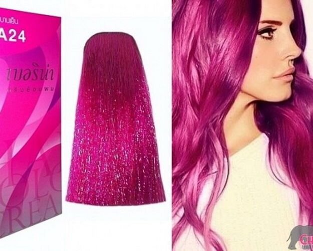 The Best Berina A24 Pink Magenta Hair Dye Color Cream Permanent Fashion Professional Use 8850398080359 Ebay Pictures