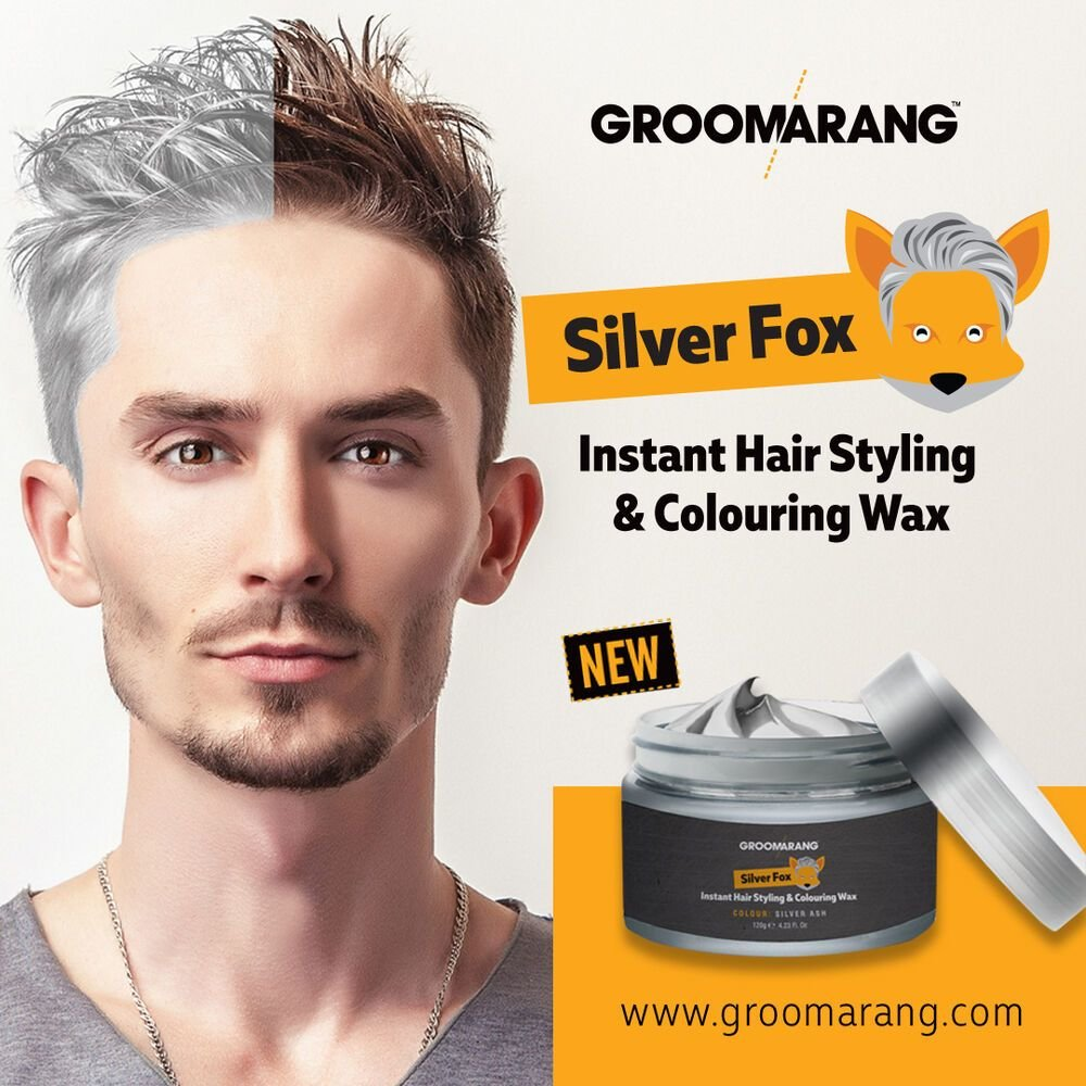The Best Silver Colour Grey Hair Wax Men Women Grandma Hair Ash Dye Gray Mud Temporary 5060401358082 Ebay Pictures
