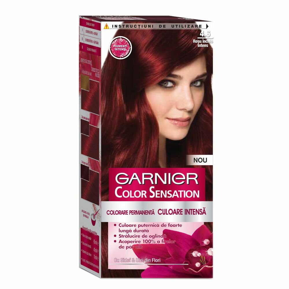 The Best Garnier Color Sensation 4 60 Intense Dark Red Hair Dye Pictures