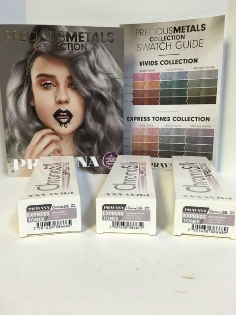 The Best Pravana Precious Metals Metallics Express Tones Vivids Pictures