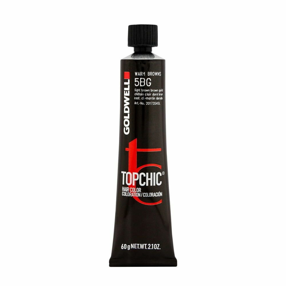 The Best Goldwell Topchic Hair Color Coloration Tube 5Bg Warm Browns 4021609000556 Ebay Pictures