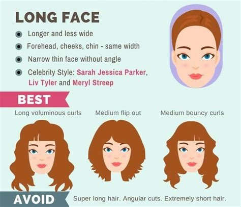 The Best Long Hairstyle Guide For Your Face Shape Makeup Tutorials Pictures