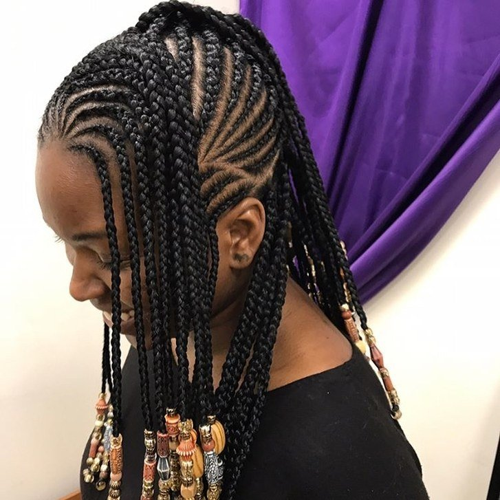 The Best 12 Gorgeous Braided Hairstyles With Beads From Instagram Pictures