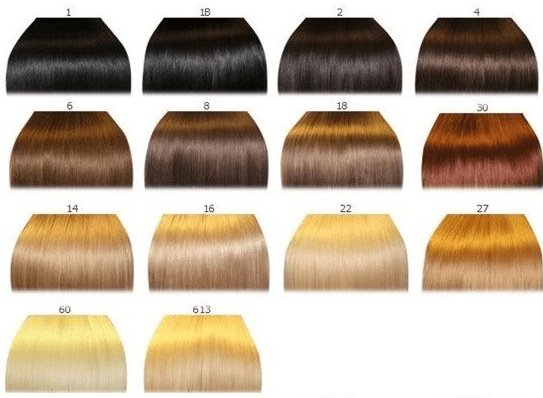 The Best Hair Color Chart 2 – Qlassy Hair Extensions Pictures