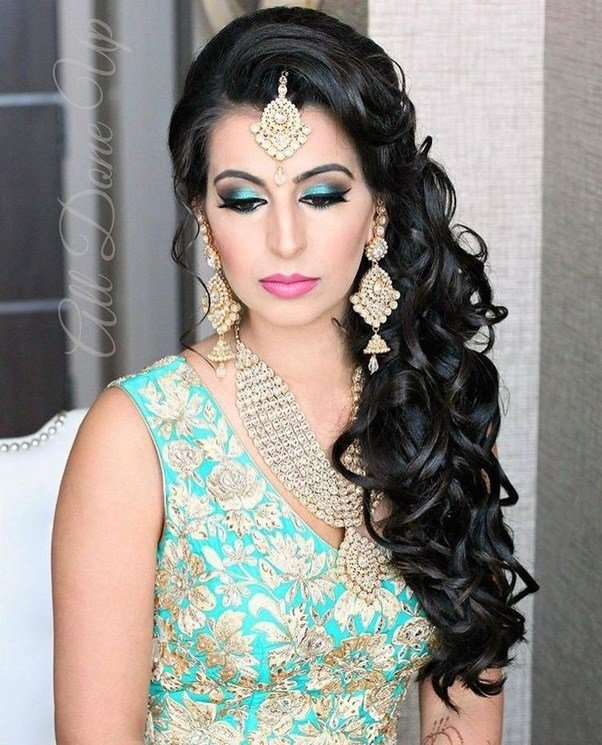 The Best Which Hairstyle Will Go With My Lehenga Quora Pictures