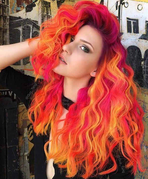The Best Coloring Your Hair Orange How To Fix Orange Hair Bun Pictures