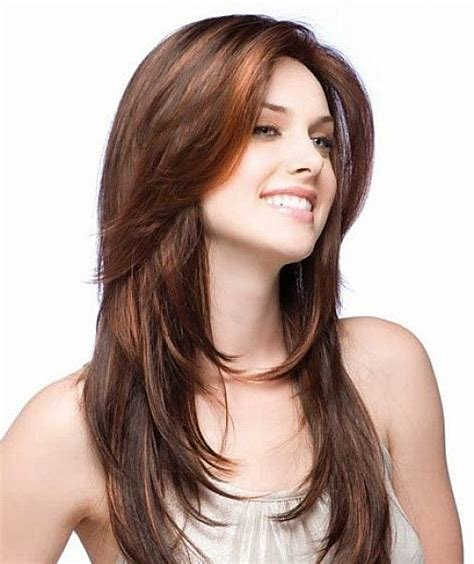 The Best Layered Hairstyles For Long Hair Round Face Pictures