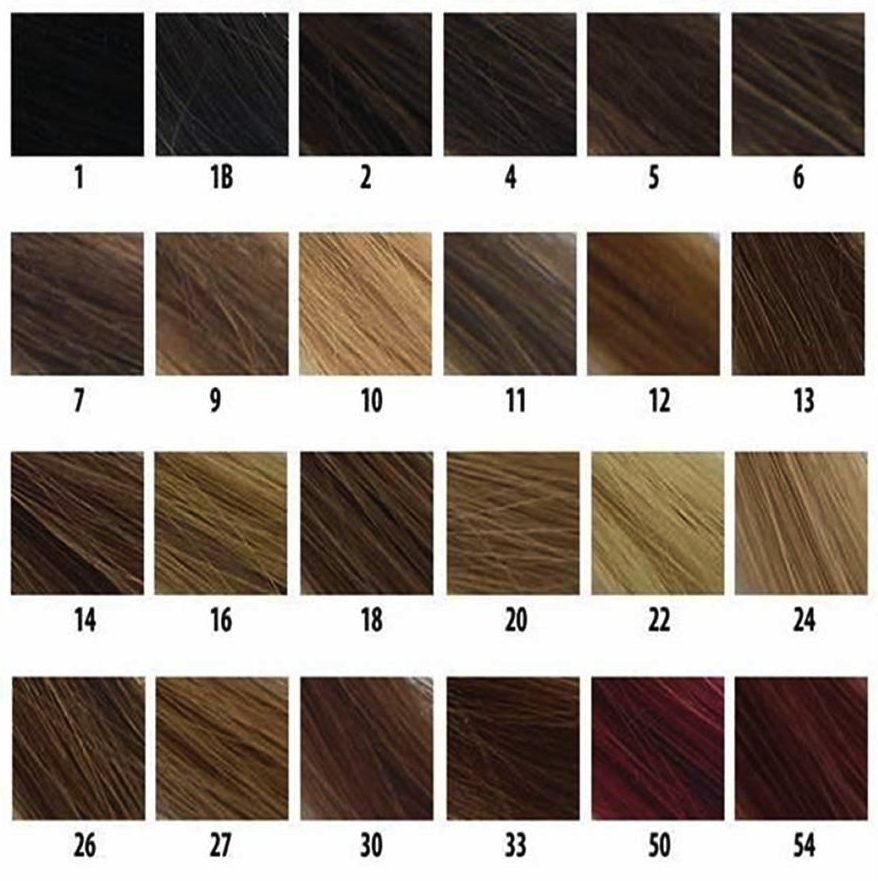 The Best Understanding Hair Color Codes Black Clip In Pictures