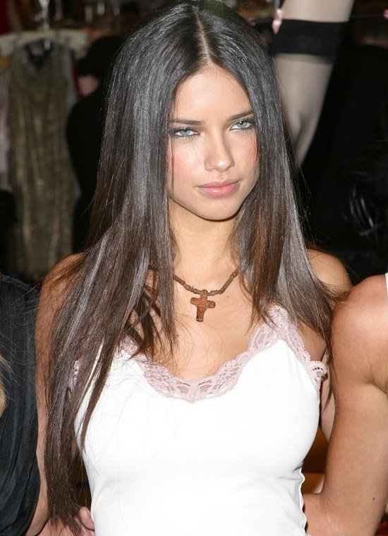 The Best The Secret Of Adriana Lima For Shiny Hair Pictures