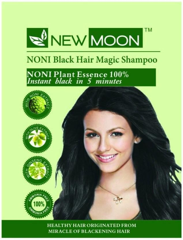 The Best New Moon Noni Black Hair Magic Shampoo Permanent Hair Pictures