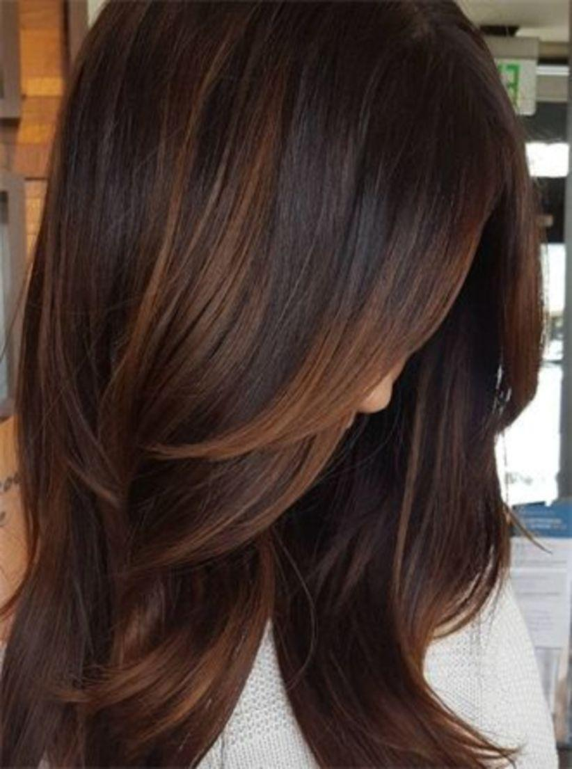 The Best Creative Dark Brown Hair Color Highlights Ideas 19 Vis Wed Pictures