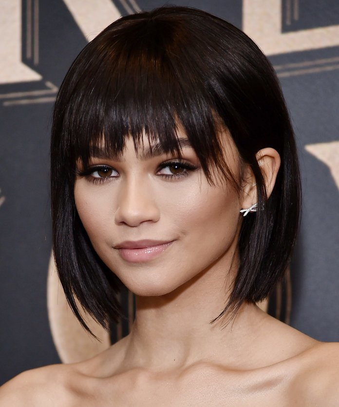 The Best Short Hairstyles With Bangs To Try This Spring Instyle Com Pictures