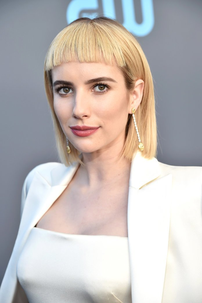 The Best How To Wear Baby Bangs And Micro Fringe Hair Trend Pictures