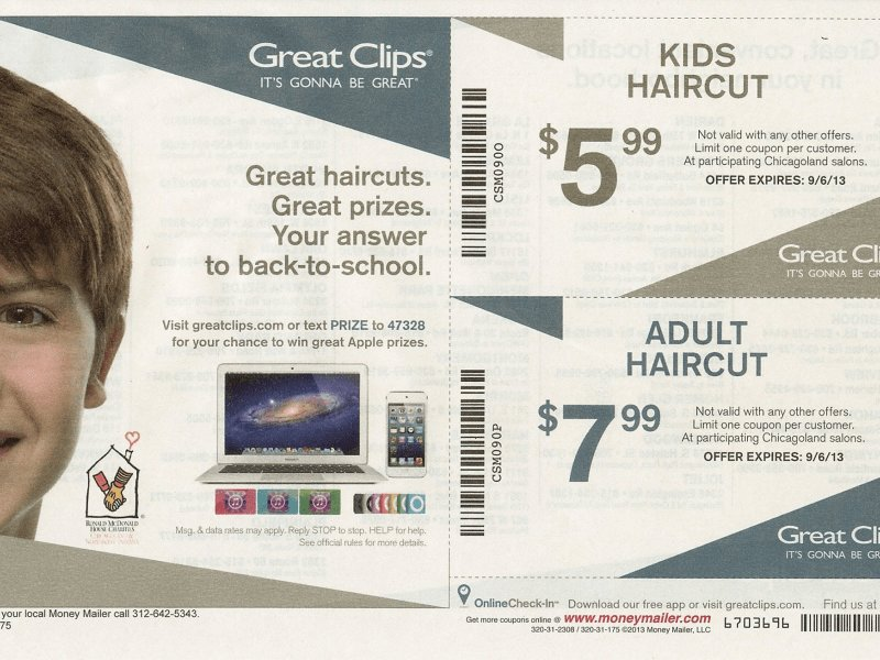 The Best Great Clips Back To School Coupon Oak Lawn Il Patch Pictures