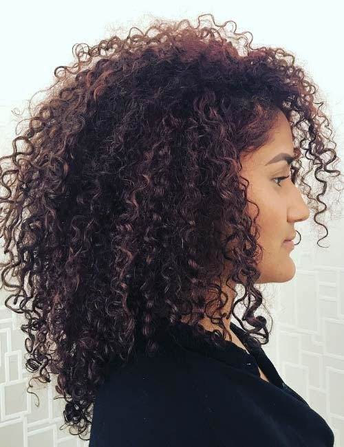 The Best 20 Amazing Layered Hairstyles For Curly Hair Pictures
