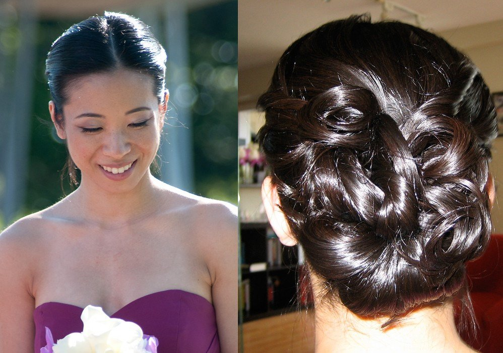 The Best Asian Hair Updo Bridesmaid Hairstyle Victoria Flickr Pictures