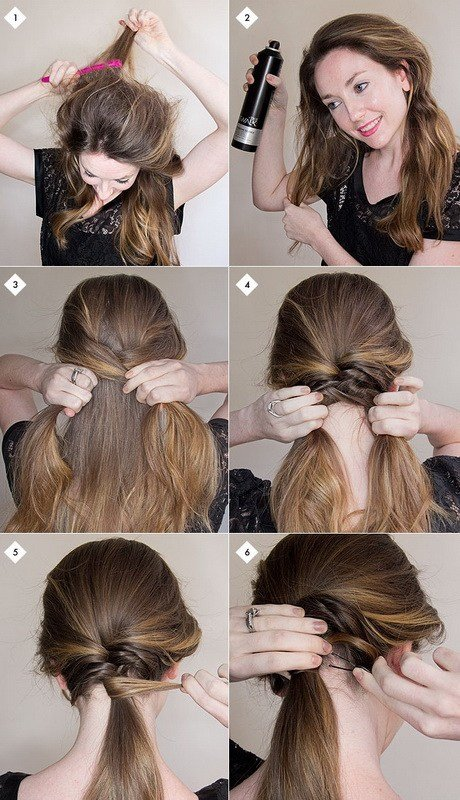 The Best Easy Hairstyles For Long Hair Step By Step Pictures