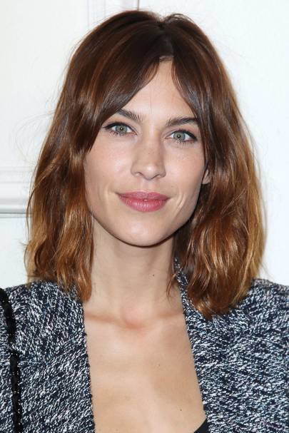 The Best Alexa Chung Best Hairstyles Hair Make Up Looks Glamour Uk Pictures
