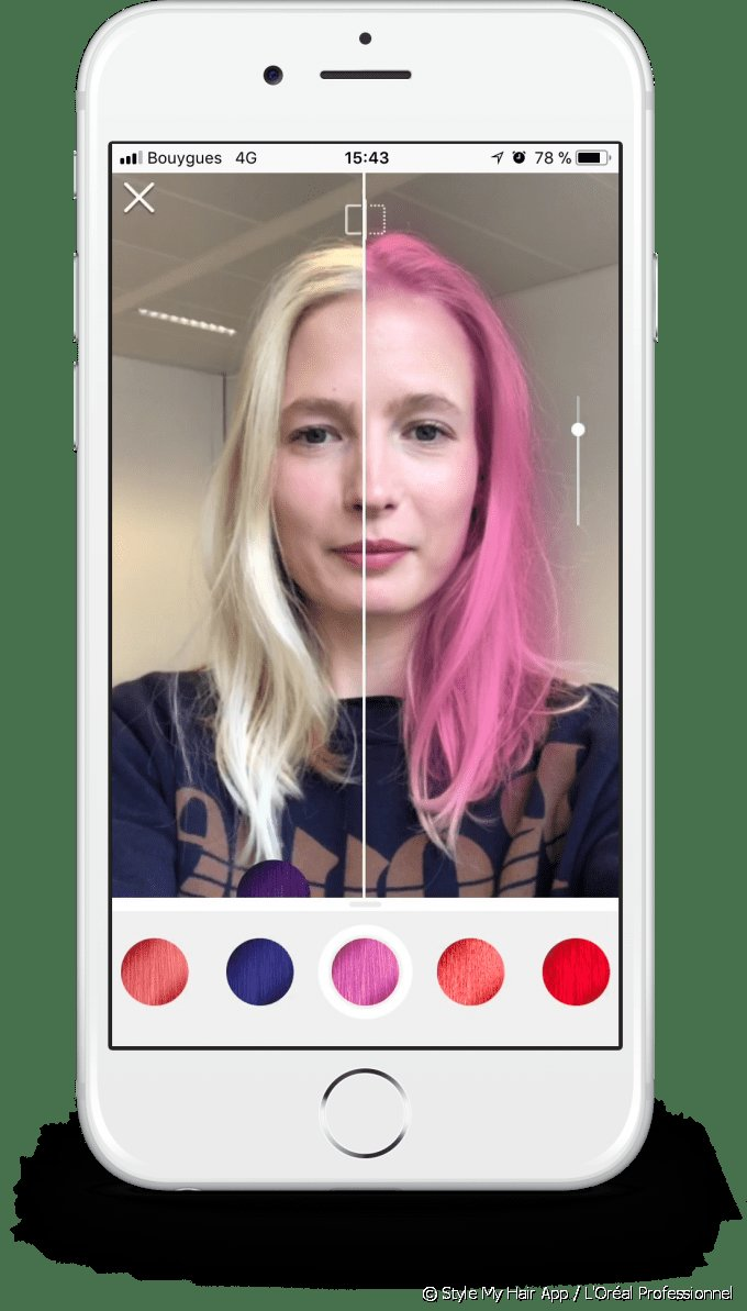 The Best Style My Hair The 3D App That Lets You Try On Hair Color Pictures