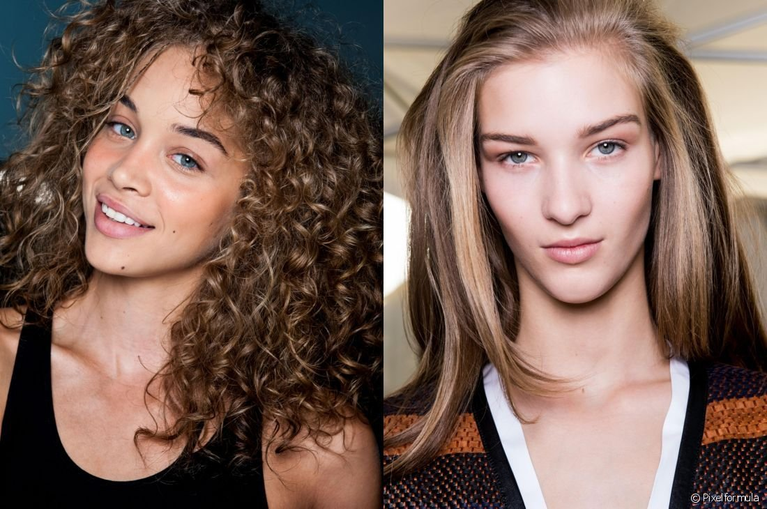 The Best Voluminous Hairstyles For Thin Hair Straight Vs Curly Pictures