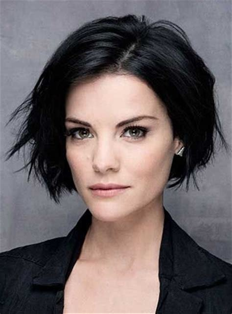 The Best Short Straight Lob Side Swept Fringes Hairstyle Lace Front Pictures