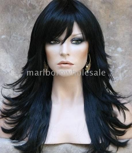 The Best Love Love Love Layered Long Haircut Jet Black Hair Pictures