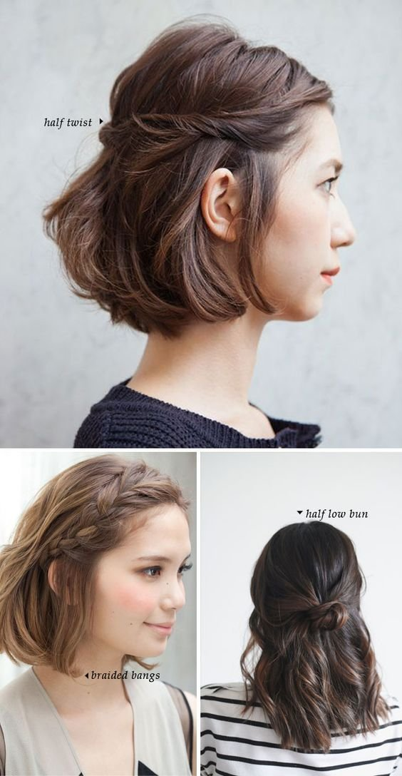 The Best Short Hair Do S 10 Quick And Easy Styles Pinterest Pictures