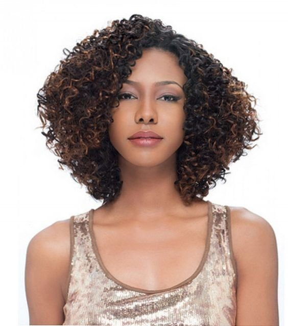 The Best Naturally Curly Bobs For Black Women Curly Hair With Pictures