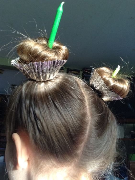 The Best Gah This Is So Cute For Crazy Hair Day At School Or A Pictures