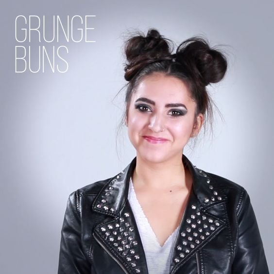 The Best 1 Woman 10 Badass Hairstyles Top Knot Pinterest Pistols Colorful Hair And Buns Pictures
