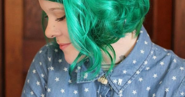 The Best Ramona Flowers Hair And Green Hair On Pinterest Pictures