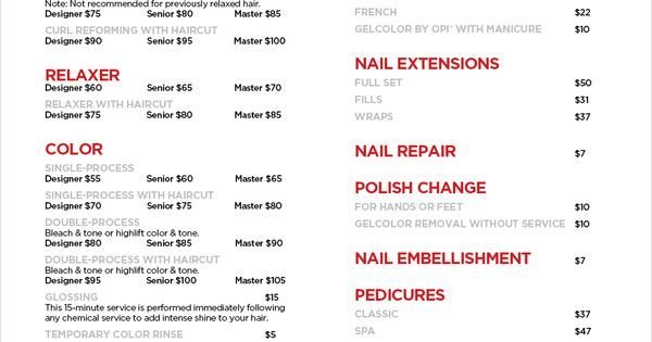 The Best Jcp Salon Services Haircuts Manicures Pedicures Pictures