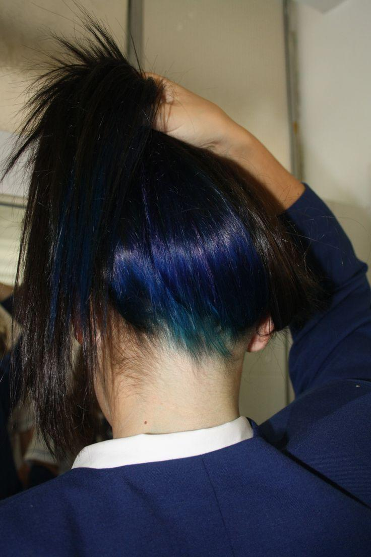 The Best 25 Best Ideas About Blue Hair Underneath On Pinterest Pictures