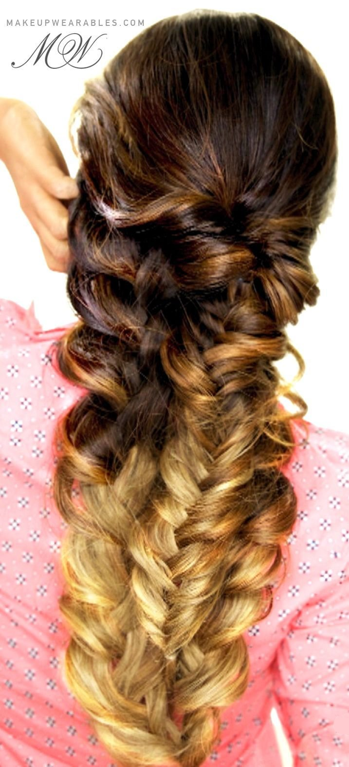 The Best Easy Topsy Tail Braid Hair Tutorial Cute Everyday Pictures