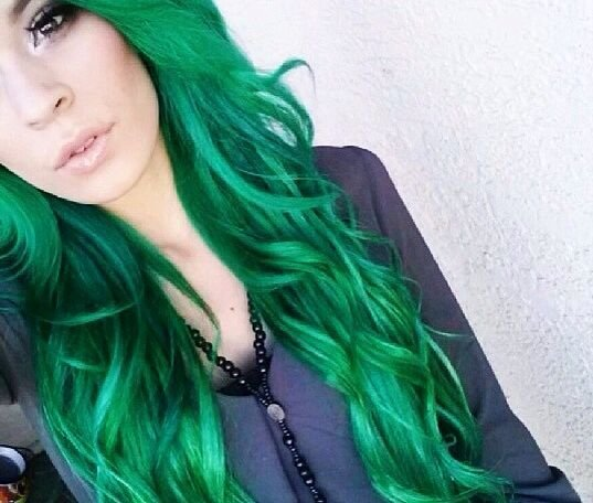 The Best 25 Best Ideas About Green Hair Streaks On Pinterest Pictures