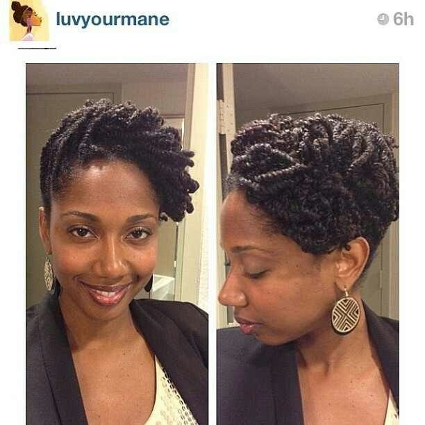 The Best 1000 Ideas About Two Strand Twist Updo On Pinterest Pictures