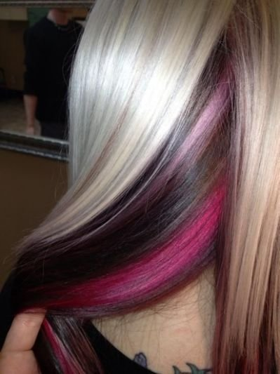 The Best 25 Best Ideas About Pink Peekaboo Hair On Pinterest Pastel Hair Tips Blonde And Blue Hair Pictures