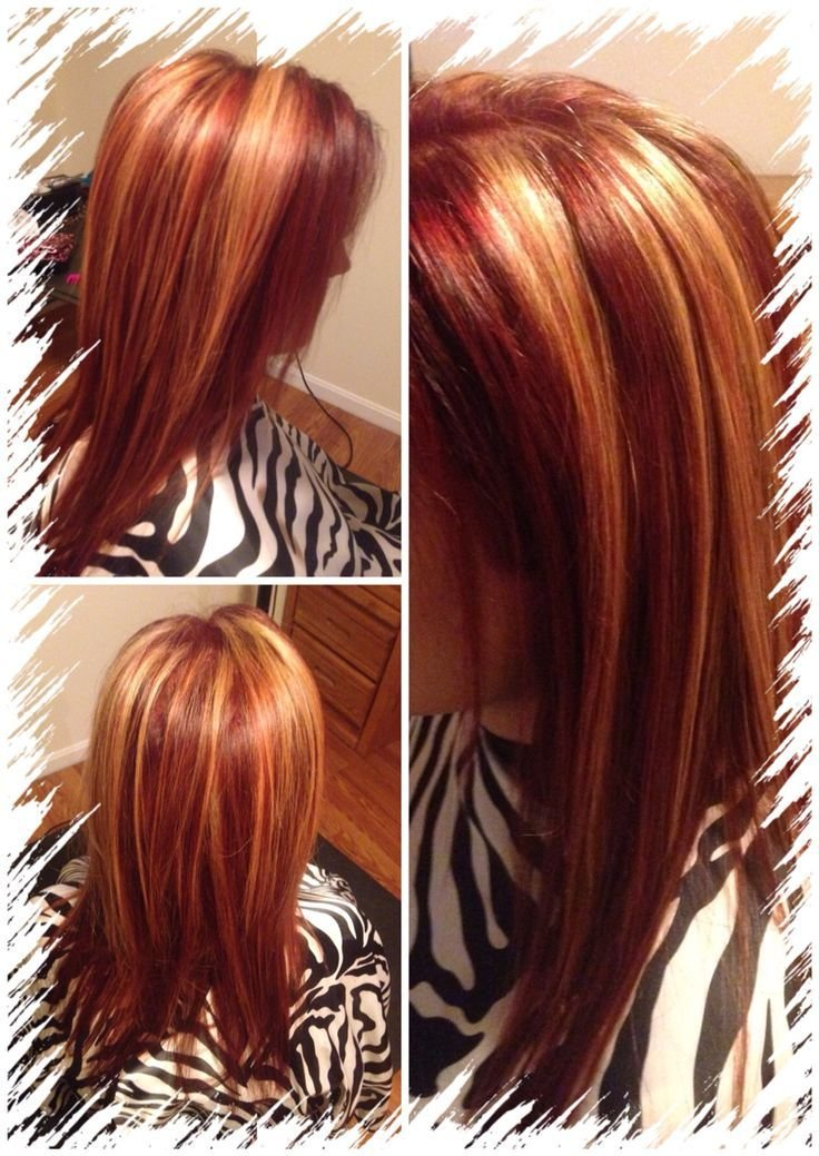 The Best Best 20 Red Hair Blonde Highlights Ideas On Pinterest Pictures
