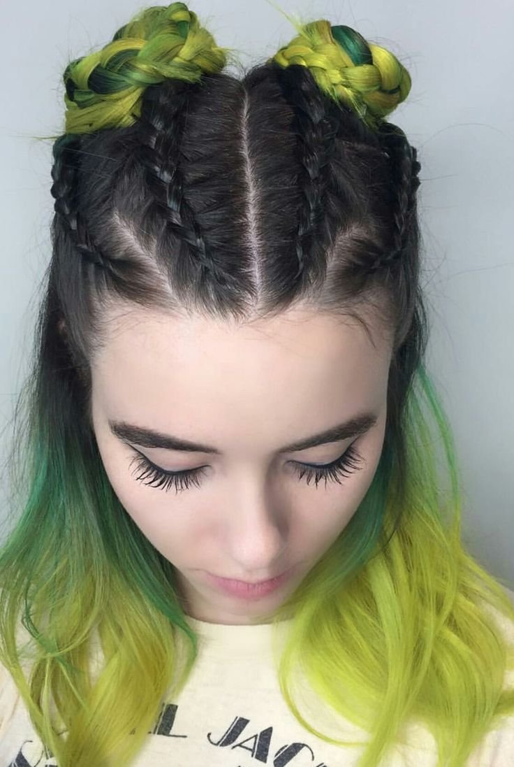 The Best 25 Best Ideas About Half Dyed Hair On Pinterest Crazy Pictures