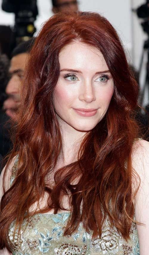 The Best 40 Auburn Hair Color Long Hairstyles 2015 My Style Pictures