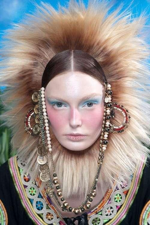 The Best Lion Mane Hairstyles Hairstyles Vogue Brazil And Edgy Updo Pictures