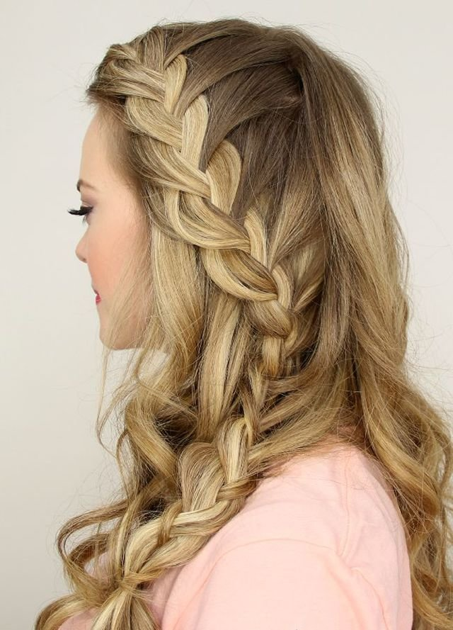 The Best 13 Ways To Add A Braid To Your Hairstyle Side Braids Pictures