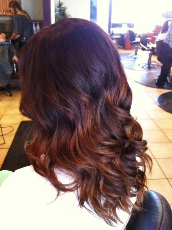The Best Fall Ombre Hair Brunette With Red Tips If I Ever Decide Pictures