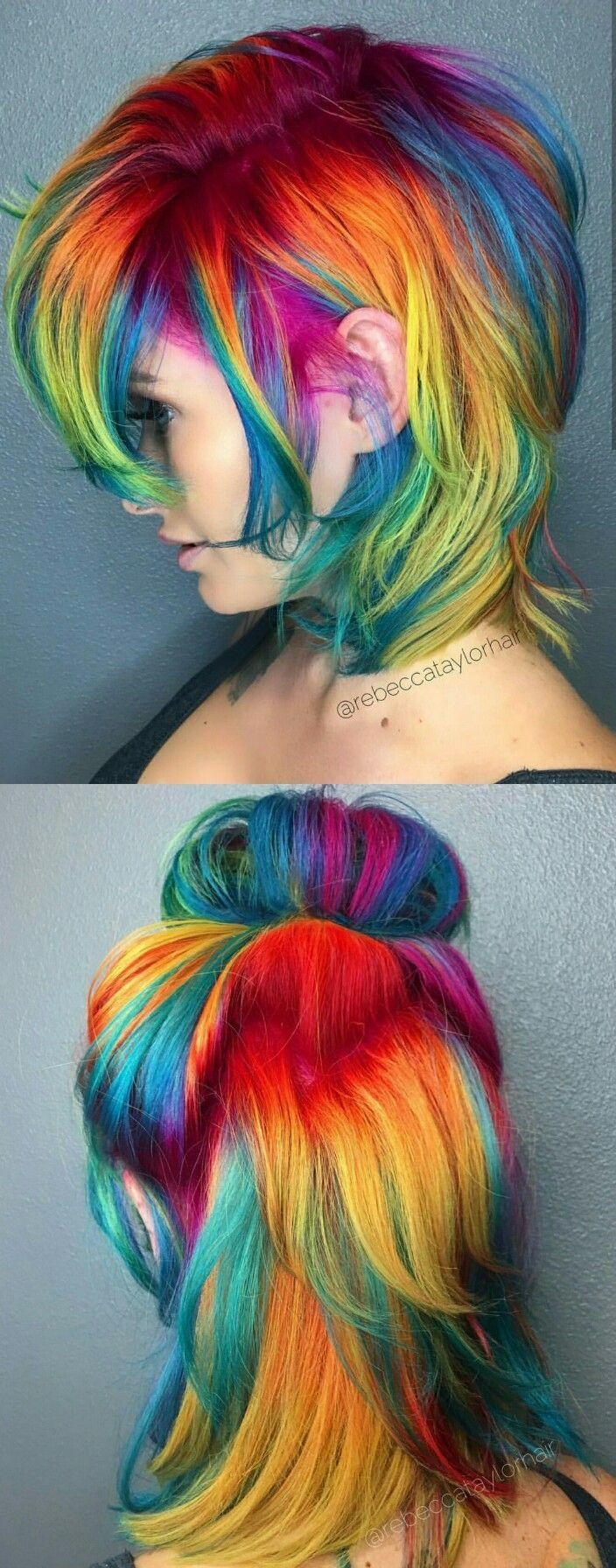 The Best Best 20 Rainbow Dyed Hair Ideas On Pinterest Unicorn Pictures
