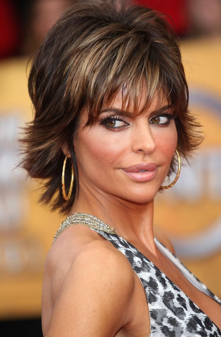 The Best 66 Best Images About Lisa Rinna Hairstyle On Pinterest Short Sh*G Celebrity Hairstyles And Pictures