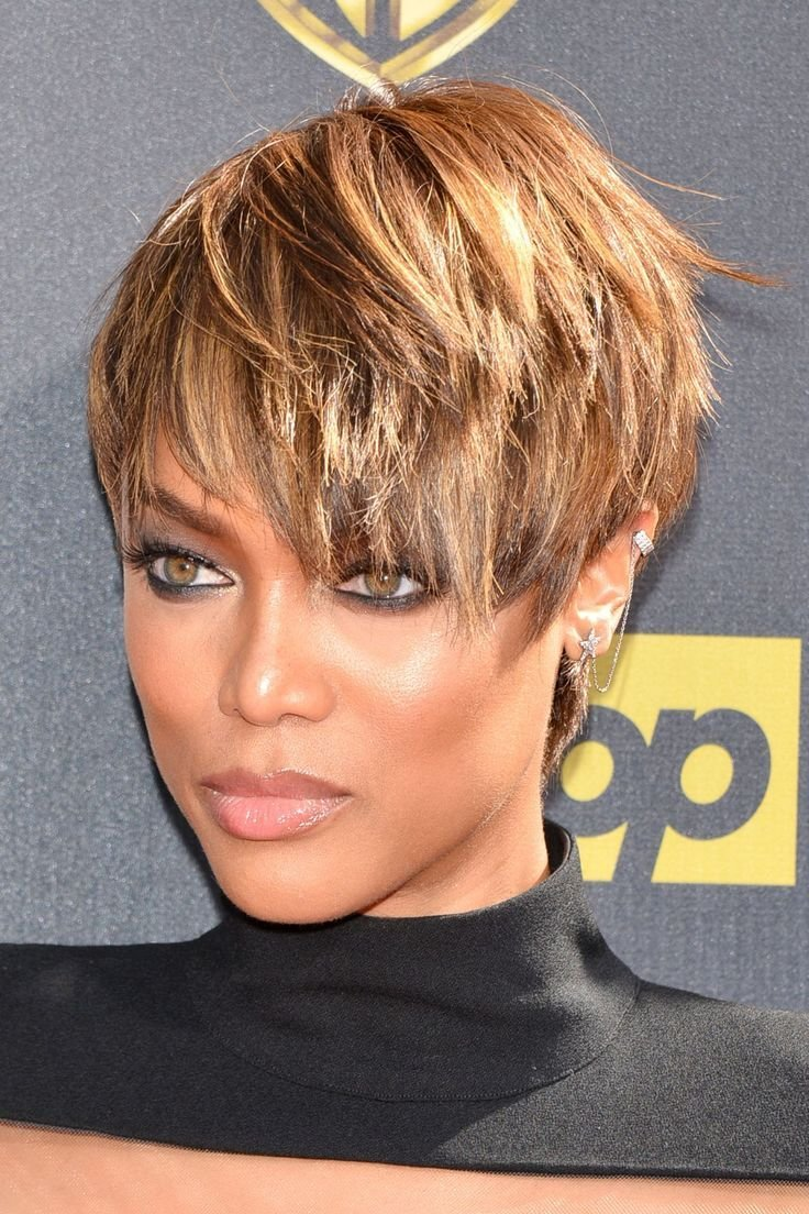 The Best Tyra Banks Short Hairstyle Google Search Hair N There Pictures