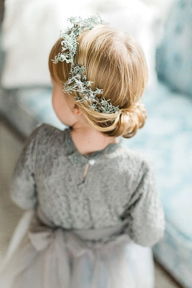 The Best 25 Best Ideas About Flower Girl Hairstyles On Pinterest Pictures