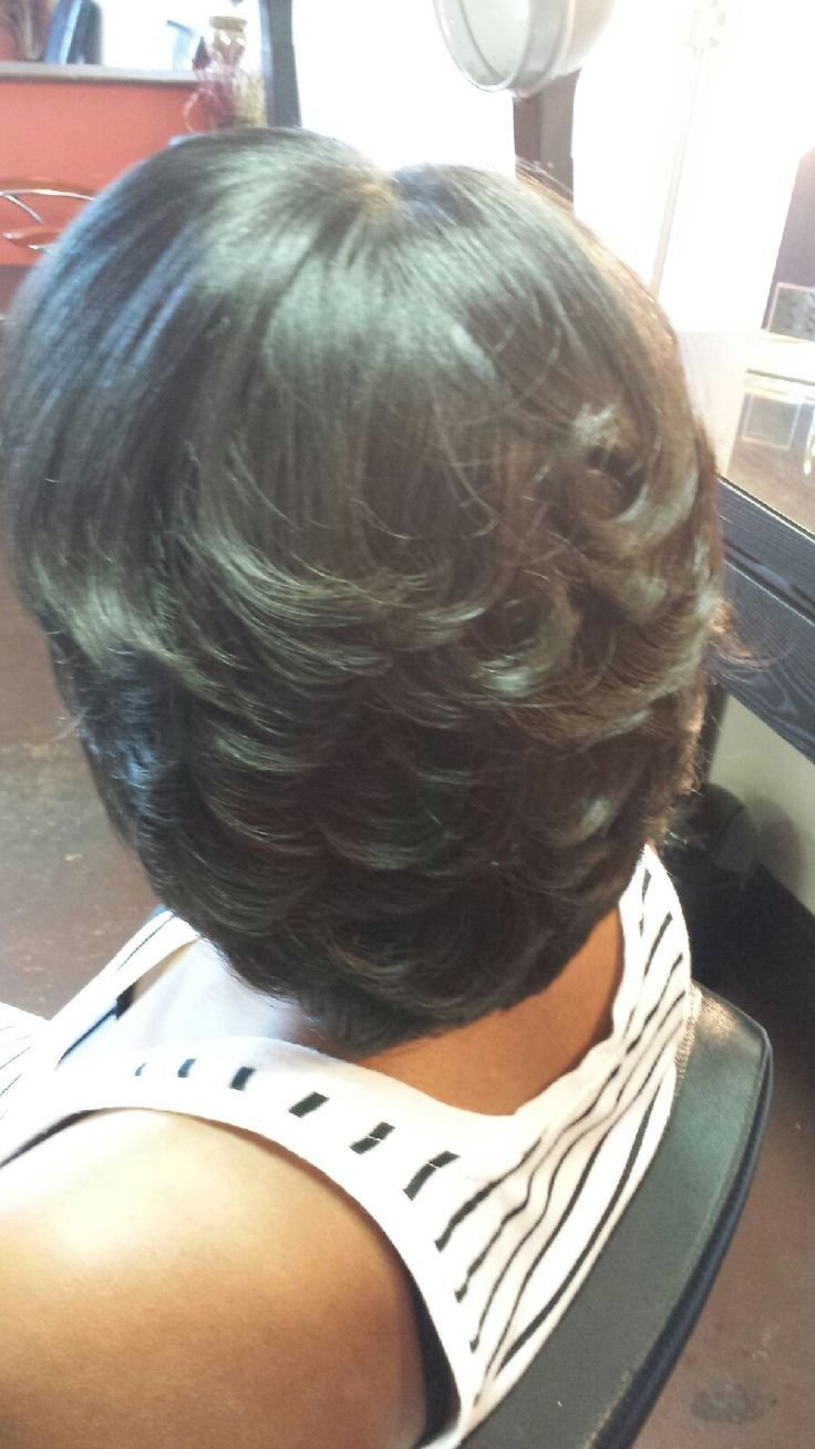The Best Best 25 Feathered Bob Ideas On Pinterest Black Hairstyles Short Bob Weave Bob Hairstyles And Pictures