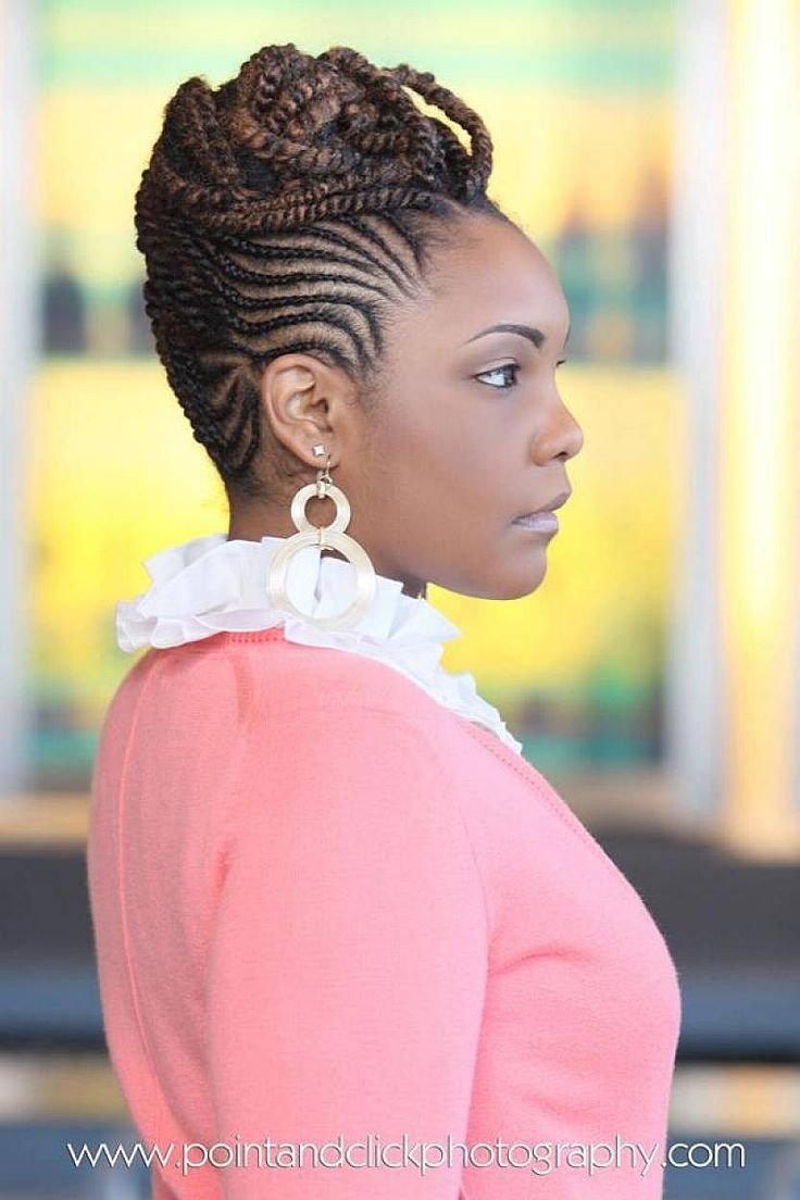 The Best 5 Creative Natural Braided Hairstyles For Black Women Pictures