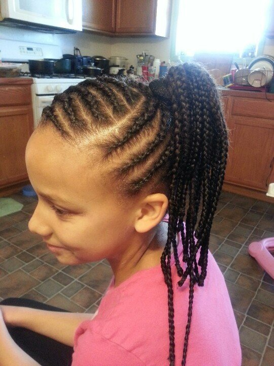 The Best Here Is The Left Side Cornrow Styles For Little Girls Pictures